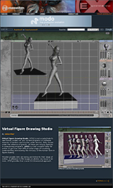 3D Virtual Figure Drawing Studio- Review